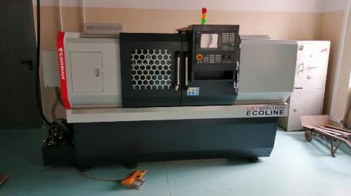 Obrazek galerii Pracownia obrabiarek skrawających do metali (obrabiarki konwencjonalne, CNC)