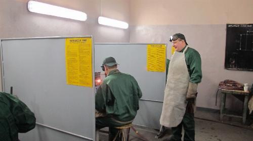 Obrazek galerii Pracownia spawalnictwa gazowego