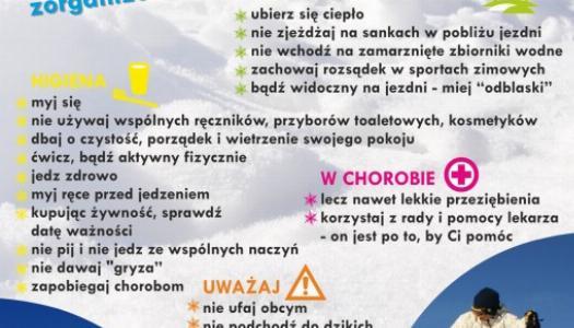 """Obrazek newsa Wojewódzka akcja """"Bezpieczne ferie 2020"""